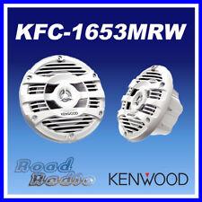 """Kenwood KFC-1653MRW Waterproof 160 mm (6.5"""") 150 WATT 2 Way Marine Speakers"""