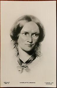 Charlotte Bronte Cartolina
