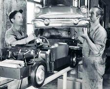 1956 Pontiac Junior Fiberglass Electric Car Being Assembled 8 x 10  Photograph
