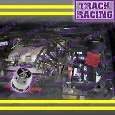 1996 1997 1998/96 97 98 PONTIAC GRAND AM 3.1L V6 AIR INTAKE KIT+CHF Black Red