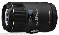 Sigma 105mm f/2.8 OS HSM DG EX Lens For Canon EOS EF DSLRs