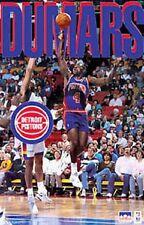 1993 Joe Dumars Detroit Pistons Original Starline Poster OOP