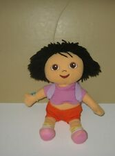 "2006 Viacom 12"" Dora the Explorer Dora w/ Opening Backpack Plush"