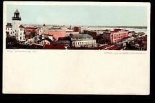 1904 birds eye view Jacksonville Florida postcard
