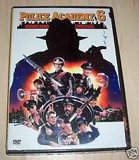 DVD Police Academy 6 ... Widerstand zwecklos Neu OVP