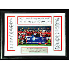 Wales 2012 Grand Slam signed and framed presentation
