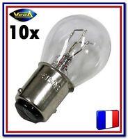 """10 Ampoules Vega® """"Maxi"""" P21/5W 1157 BAY15D Position Arrière Stop Frein 12V"""