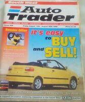 AUTO TRADER MAGAZINE 14th August 1998 BTCC RAC Touring Cars 2Pgs Motor Trade Ads