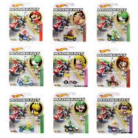 Hot Wheels Mario Kart Diecast Cars - Choose Character