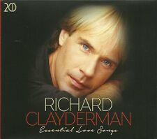 RICHARD CLAYDERMAN ESSENTIAL LOVE SONGS 2 CD BOX SET - HELLO, MEMORY & MORE