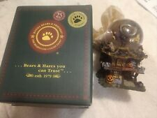 Boyds Bears Halloween Witchy Boo's Haunted Mansion Waterball Globe Style 270524