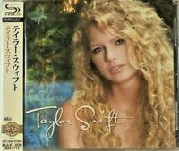 "Taylor Swift SEALED BRAND NEW SHM-CD ""Taylor Swift"" Japan OBI"