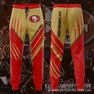 San Francisco 49ers Casual Joggging Pants Sweatpants Footbal Loose Trousers Gift
