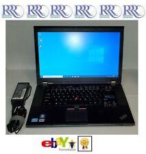 Lenovo ThinkPad T520 Laptop Core i5 2.5GHz 15.6 8Gb 128Gb SSD DVD WiFi BT FP W10