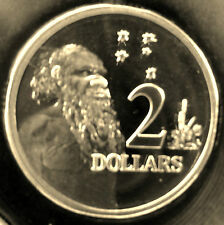 2010 $2 Aboriginal Elder proof coin. Only 20,313 made! Brilliant coin in 2 x 2!