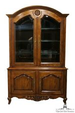 CENTURY FURNITURE Chermont 54″ Country French Lighted Display / China Cabinet