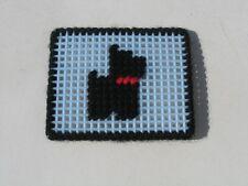 Great Scotty Scottie Scottish Terrier Dog Embroidered Mesh Coin Purse Pocket