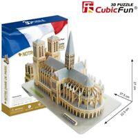 3D Puzzle Notre Dame De Paris Building Jigsaws Collection Kid Toys MC054H 74 Pcs