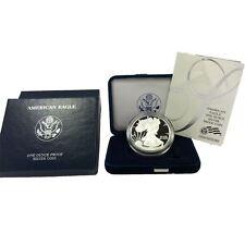 2001 American Silver Eagle Proof with Original Box and COA