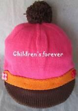Gymboree Girl's Pink Hat Knit Beret Fashion Winter Toddler Beanie Kids 3 To 4 T
