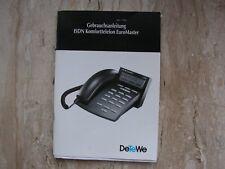 Bedienungsanleitung  / Gebrauchsanleitung für ISDN Komforttelefon EuroMaster