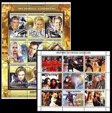 Malagasy Republic. Film Stars. 1999 Scott 1414A-1415. MNH (BI#24)