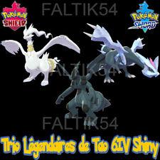 3 Légendaires de Tao 6IV Shiny - 100% Legit - Pokémon Epée/bouclier