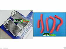 gpi aluminum radiator for Honda CRF250R CRF 250R 250 CRF250 2014 2015 2016 +hose