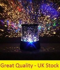 New Star Light Projector Night Sky LED Master Mood Lamp Space Stars Moon Kids UK