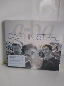 A-HA - CAST IN STEEL: DELUXE 2CD ALBUM SET (September 4th 2015) NEW SEALED!