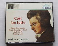 BOHM-SCHWARZKOPF-LUDWIG/MOZART Cosi fan tutte(Salzburg 1962)ITALY 2CD Box (1991