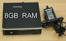 HP 8200 Elite USDT usff ultra slim Quad Core i5-2400S 2.5GHz 8GB 250GB DVD+RW