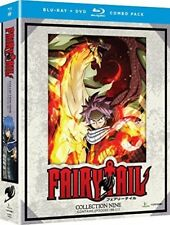Fairy Tail: Collection Nine [New Blu-ray] Oversize Item Spilt , With DVD, Boxe