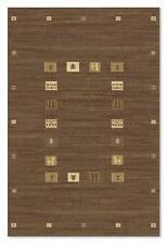 QUALITY Brown Beige Tribal Modern Design NATURAL Wool Dense Rug 160x230cm 50%OFF