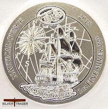 2018 Rwanda Nautical Series 1 oz Endeavour Silver Bullion Coin unc: