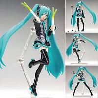 "Anime VOCALOID Hatsune Miku Action Figma Manga Action Figure Toys15cm/ 6"" in box"