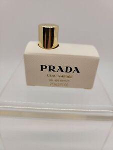 Prada L'eau Ambree Prada 7ml EDP Perfume for Women - travel/mini - Spain *Rare*