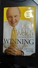 Winning by Suzy Welch and Jack Welch (2005, Hardcover), Signed 1st