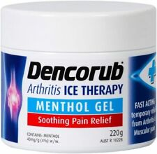 Gel Menthol Over-the-Counter Pain & Fever Relief Medicine