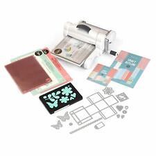 Sizzix Big Shot Plus Starter Kit Manual Die Cutting and Embossing Machine