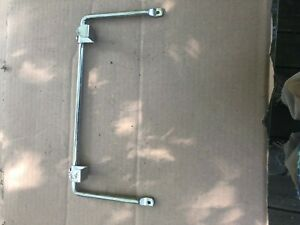 "NICE USED CHROME 12 3/4""x6"" UNKNOWN PEDAL CAR  LADDER RACK , L@@K!!"