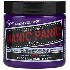 Manic Panic Semi-Permament Hair Color Creme, Electric Amethyst 4 oz (Pack of 2)