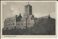 Ansichtskarte Eisenach - Die Wartburg von Osten - schwarz/weiß
