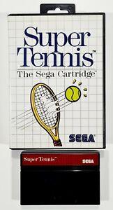 SEGA Master System SUPER TENNIS dt PAL Sport/Mehrspieler/Arcade