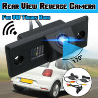 Auto Telecamera Retrocamera Wireless Per Porsche VW Per Touareg Tiguan Passat
