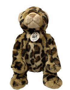 Build a Bear World Wildlife Fund WWF Amur Leopard 13th in the series