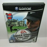 Tiger Woods PGA Tour 2003 (Nintendo GameCube, 2002) Game & Manual in Case Tested