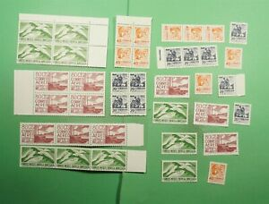 DR WHO MEXICO UNUSED STAMPS SET OF 40 1054-5 C422 E22  g12638
