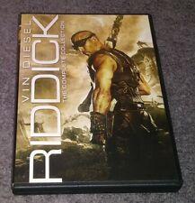 Riddick The Complete Collection Dvd Vin Diesel Pitch Black Dark Fury 4 Film Set