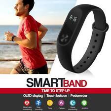 NUOVO Bluetooth Smart Braccialetto Sport Watch PASSO calorie counter Tracker Contapassi